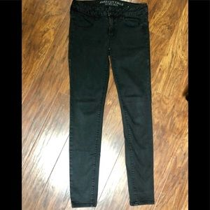 American Eagle jeggings with super stretch size 6